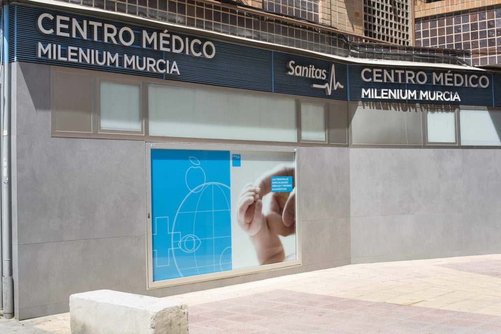 "Centro m茅dico ""Milenium"" en Murcia. Pasa consulta la psic贸loga Eva Sastre Baldasqu铆n."